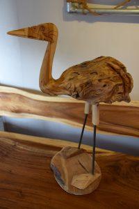 Silvijn Wonen Soest houten vogel