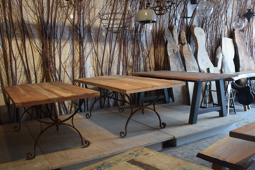 Silvijn tafels eettafels winkel Soest
