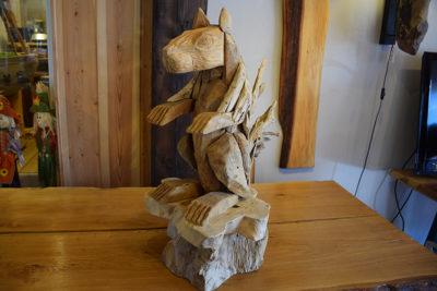 SW-143 grote houten eekhoorn